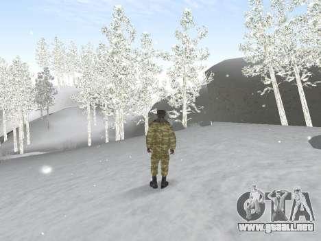 Pak ejército ruso de servicio para GTA San Andreas sucesivamente de pantalla