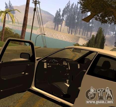 ВАЗ 2112 GVR Versión 1.1 para la visión correcta GTA San Andreas