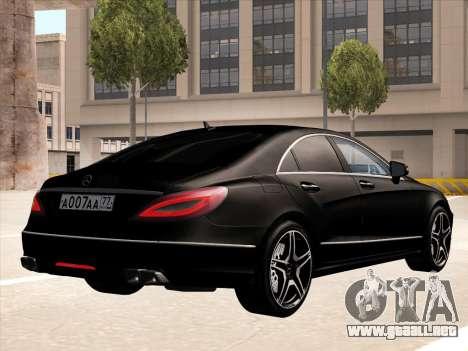 Mercedes-Benz CLS350 2012 para la visión correcta GTA San Andreas