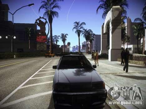 ENBseries para PC débil v2.0 para GTA San Andreas sucesivamente de pantalla