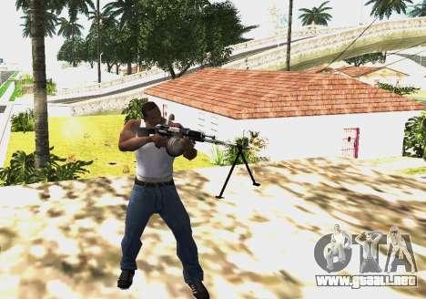 RPK-203 para GTA San Andreas segunda pantalla