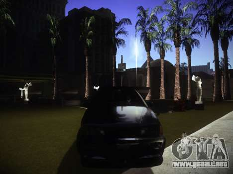 ENBseries para PC débil v2.0 para GTA San Andreas segunda pantalla