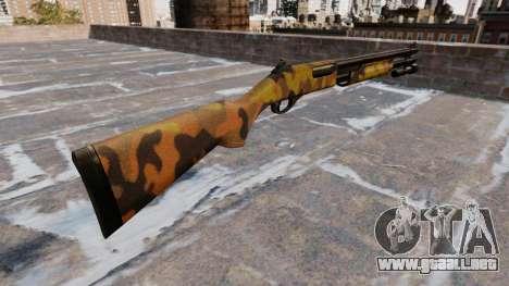 Riot escopeta Remington 870 Caída Camuflaje para GTA 4 segundos de pantalla