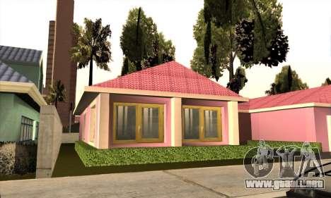 Nueva casa de Mili para GTA San Andreas tercera pantalla