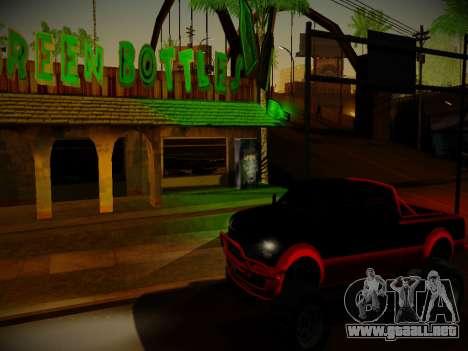 ENBSeries para PC débil v3.0 para GTA San Andreas tercera pantalla