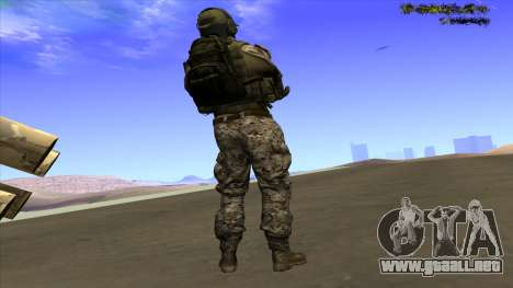 U.S. Navy Seal para GTA San Andreas segunda pantalla