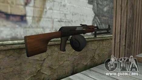 RPK Machine Gun para GTA San Andreas segunda pantalla