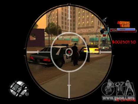 C-HUD Admins Team para GTA San Andreas sexta pantalla