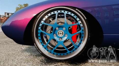 Shelby Cobra Daytona Coupe para GTA 4 vista hacia atrás