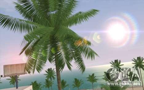IMFX Lensflare v2 para GTA San Andreas sucesivamente de pantalla