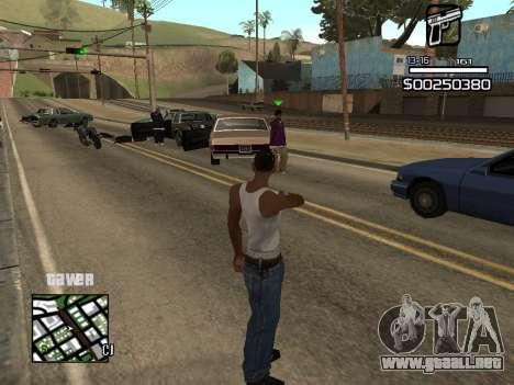 C-HUD By Kapo para GTA San Andreas tercera pantalla