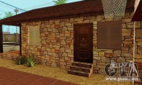 Nueva casa grande de Humo para GTA San Andreas sexta pantalla