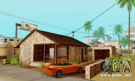 Nueva casa grande de Humo para GTA San Andreas