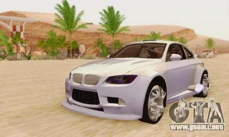 BMW M3 E92 SHD Tuning para GTA San Andreas