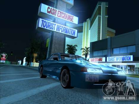 Elegy With a Pipe v1.2 para GTA San Andreas vista posterior izquierda