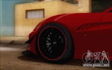 Ferrari California v2 para la visión correcta GTA San Andreas