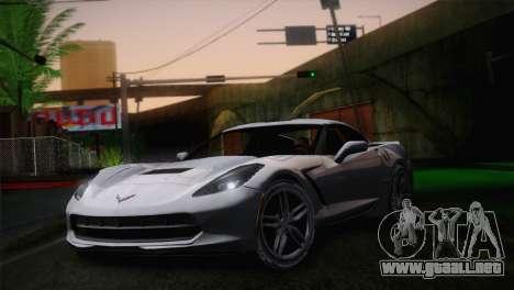 Chevrolet Corvette C7 para GTA San Andreas