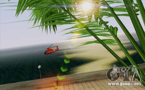 IMFX Lensflare v2 para GTA San Andreas octavo de pantalla