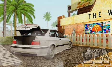 BMW E36 M3 1997 Stock para GTA San Andreas left