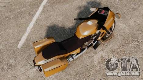 GTA V Dinka Thrust para GTA 4 Vista posterior izquierda