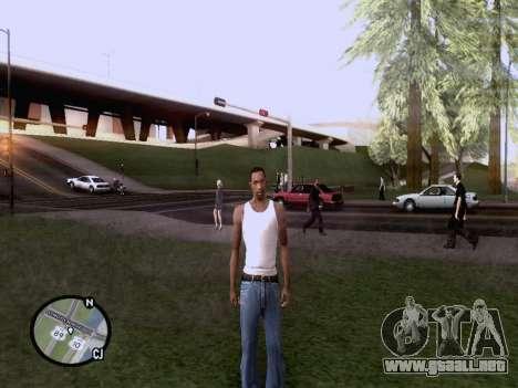 El nuevo mapa en HD para GTA San Andreas sucesivamente de pantalla