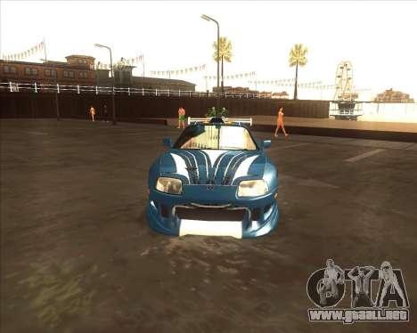 Toyota Supra из NFS most Wanted para la visión correcta GTA San Andreas