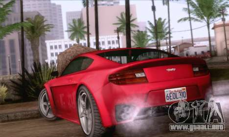 GTA V Rapid GT para GTA San Andreas left