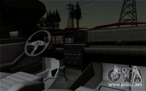 Lancia Delta HF Integrale Evo2 para visión interna GTA San Andreas