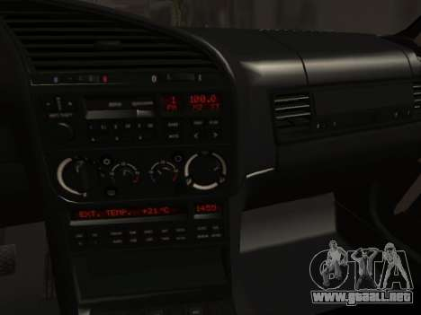 BMW M3 E36 Hellafail para visión interna GTA San Andreas