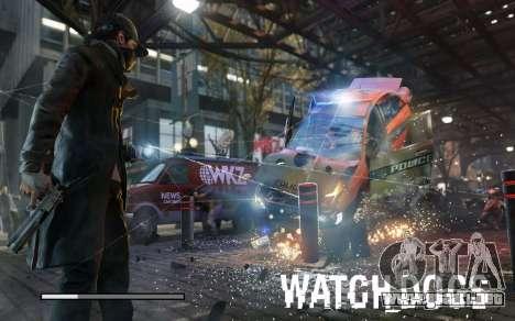 Arranque de las pantallas y menús de Watch Dogs para GTA San Andreas séptima pantalla