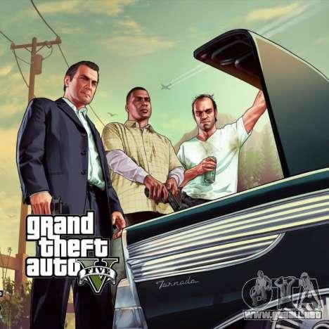 La pantalla de arranque de GTA V para GTA San Andreas tercera pantalla