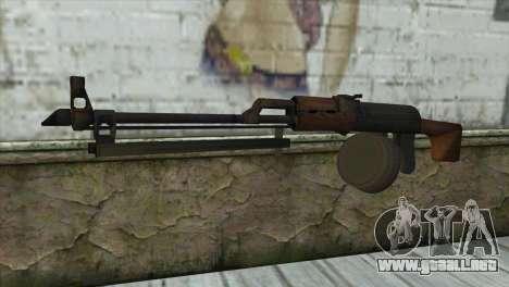 RPK Machine Gun para GTA San Andreas