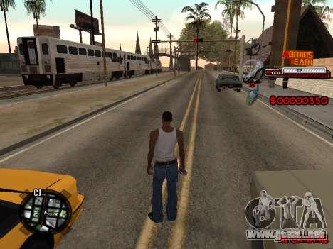 C-HUD Admins Team para GTA San Andreas tercera pantalla