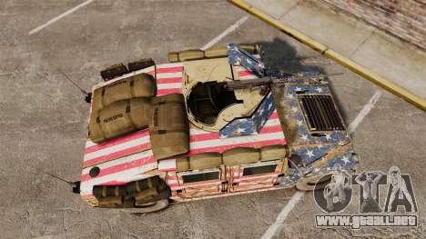 HMMWV M1114 Freedom para GTA 4 visión correcta