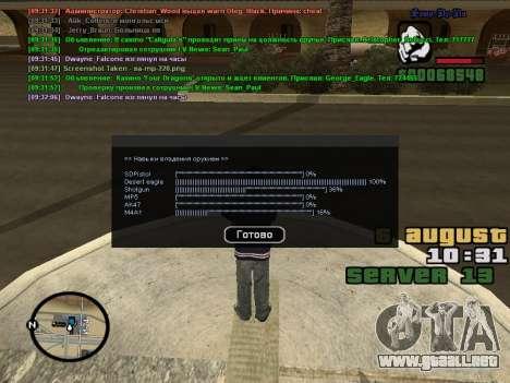 CLEO Skill for 0.3z new version para GTA San Andreas