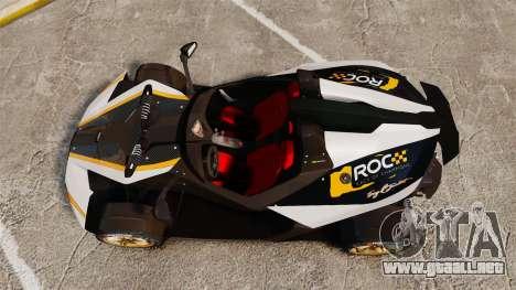 KTM X-Bow R [FINAL] para GTA 4 visión correcta