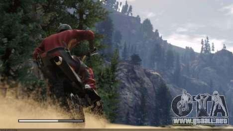 Las pantallas de carga del estilo de GTA 5 para GTA San Andreas quinta pantalla