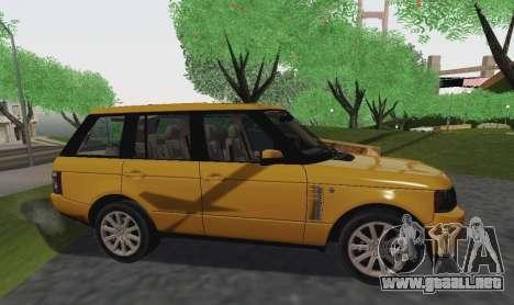 Range Rover Supercharged Series III para la visión correcta GTA San Andreas