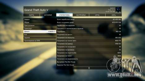 GTA 5 Guardar GTA 5 100% y más de 1 mil millones de Xb tercera captura de pantalla