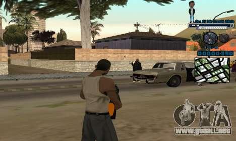 C-HUD One Of The Legends Ghetto para GTA San Andreas segunda pantalla