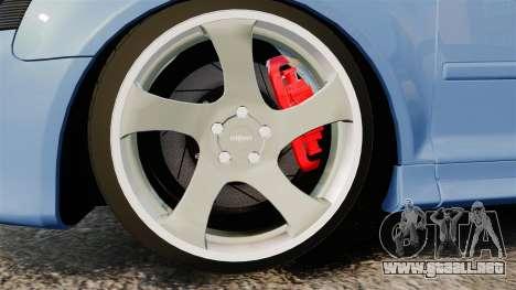 Audi S3 EmreAKIN Edition para GTA 4 vista hacia atrás