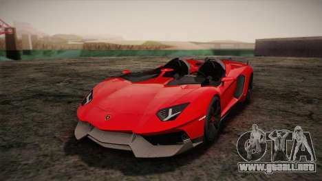 Lamborghini Aventandor J 2010 para GTA San Andreas