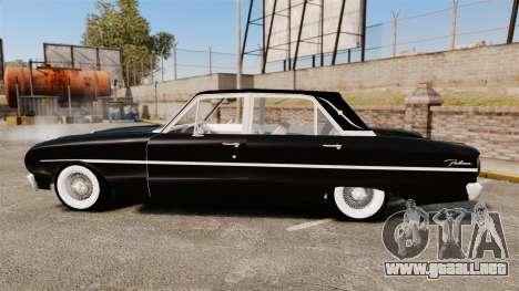 Ford Falcon 1963 para GTA 4 left