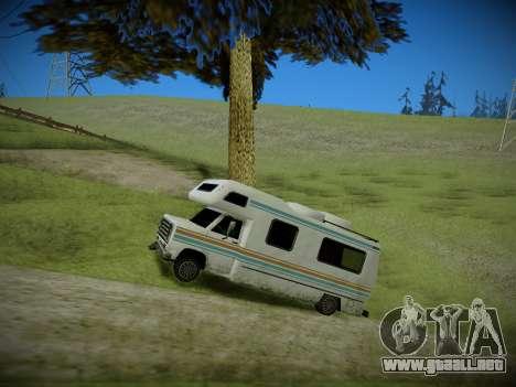Journey mod: Special Edition para GTA San Andreas sucesivamente de pantalla