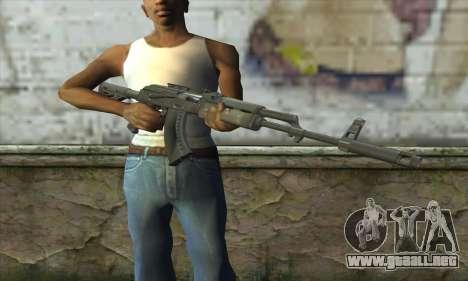 AKM - 47 para GTA San Andreas tercera pantalla