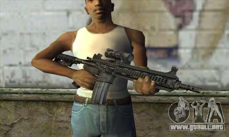 HK416 para GTA San Andreas tercera pantalla