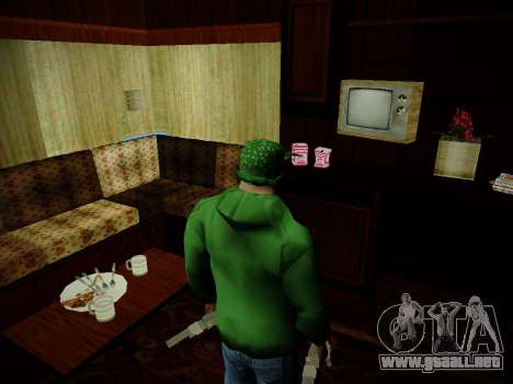Journey mod: Special Edition para GTA San Andreas quinta pantalla