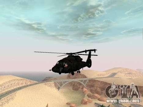 KA-60 para la visión correcta GTA San Andreas