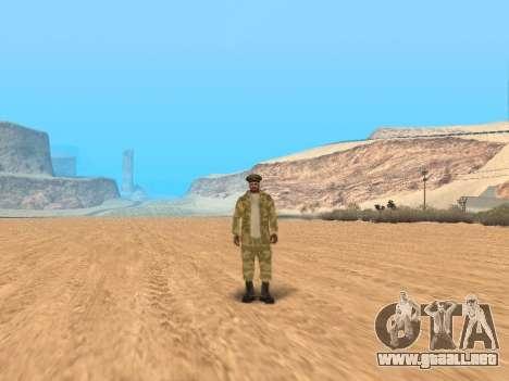 Pak ejército ruso de servicio para GTA San Andreas twelth pantalla