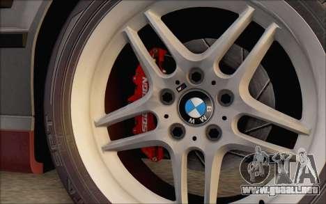 BMW M5 E34 1995 para GTA San Andreas vista posterior izquierda